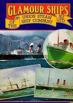 UNION STEAMSHIP New Zealand  AWATEA Rangatira Pacific Ocean Liner History Book