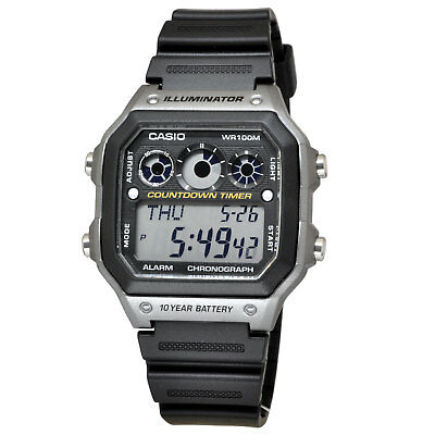 Casio Digital Watch Brand New & 100% Authentic AE1300WH-8A , AE-1300WH-8A