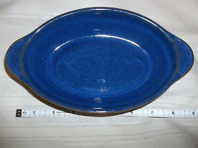 DENBY Imperial Augartin Blue Dish England