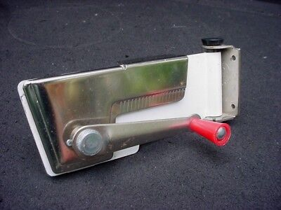 Vintage Mid Century Modern Swing A Way Wall Mount Hand Crank Can Opener