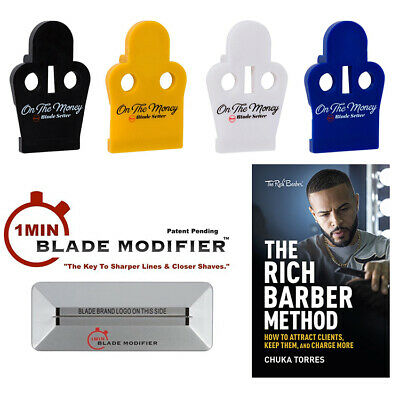 Rich The Barber On The Money Trimmer Blade Setter Andis T-Outliner GTX Slimline