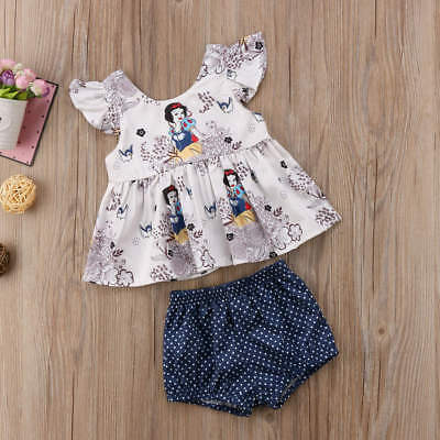 Disney Inspired Snow White Baby Outfit Size 3 6 12 18 24 Months New!