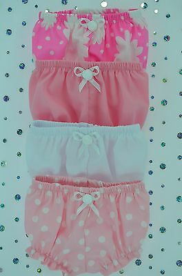 "Play n Wear Doll Clothes For 16"" Cabbage Patch~17"" Baby Born 4x KNICKERS"