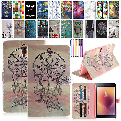 Samsung Galaxy Tab 2017 Tablet Leather Stand Case Cover For Tab A 8.0 T380/T385