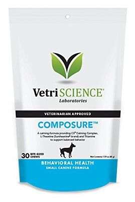 VetriScience Composure Chews Calming Support Formula for Dogs 30ct