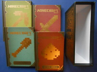 ## Minecraft - The Complete Handbook Collection **as New - 4 Hc Boxed Set