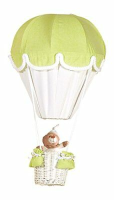 Anis/blanc PMP-Lampada a mongolfiera, colore: verde/bianco Baby Product (a52)