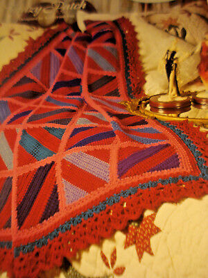 SCRAP CRAZY PATCH Afghan/Crochet Pattern INSTRUCTIONS ONLY - $3.50 ...