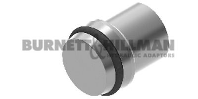 Burnett & Hillman METRIC Blanking Plug (S Series) BODY ONLY– Compression Fitting