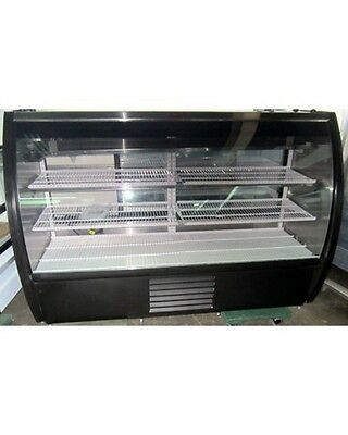 "NEW,Howard McCray Mirage-6-DC Curved Glass 72"" Deli/Bakery Case"