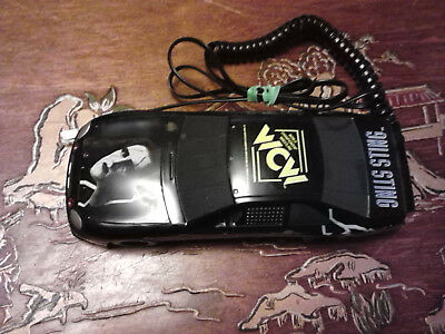 WCW World Championship Wrestling STING car cord phone 1991 WORKS FREE SHIPPING