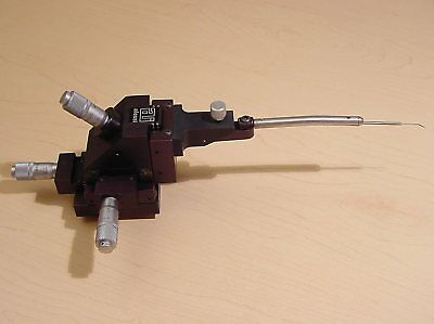 Alessi Cascade Microtech MH Micropositioner Micromanipulator Probe Magnetic Base
