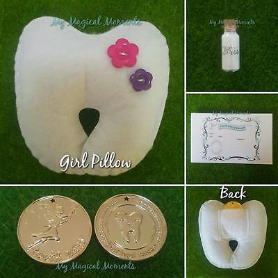 Girl Tooth Fairy Kit With Express Postage