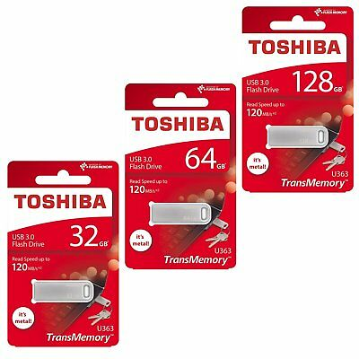 Toshiba 32GB 64GB 128GB U363 USB 3.0 Stick Flash Drive Speicherstick 120MB/s