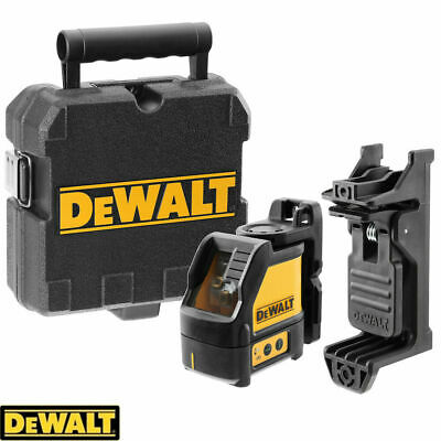 Dewalt DW088K-XJ 2 Way Self-Levelling Ultra Bright Cross Line Laser