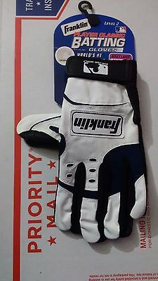 Franklin Sports Player Classic Baseball Batting Gloves- Style 2374F4 Size L