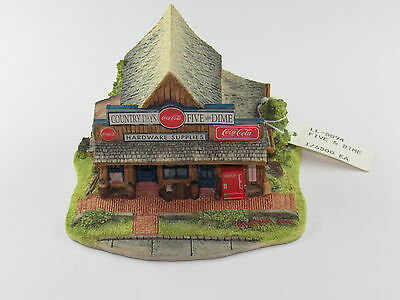 Lilliput Lane Coca Cola Country Limited Edition We Got It ..  Five And Dime Rare