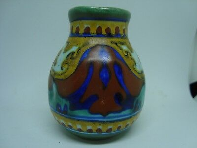 Vintage GOUDA MINIATURE Vase! 3 Inches tall. BEAUTIFUL!