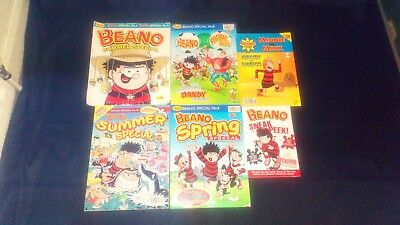 The Beano Comic Summer Special/Special Issues Joblot X 5