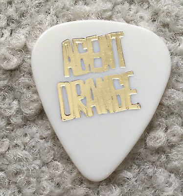 Agent Orange guitar pick (SoCal surf punk)