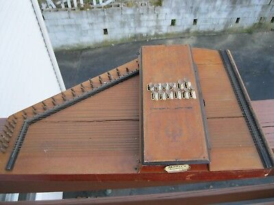 Antique  Muller's Accordzither Erato