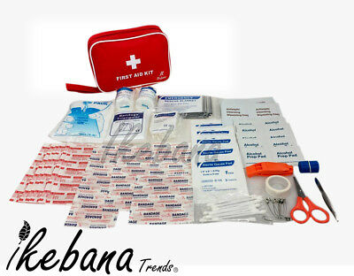 First Aid Kit 64/86/130 Pieces Includes Ice Pack,Bandage For Home,Office,Camping