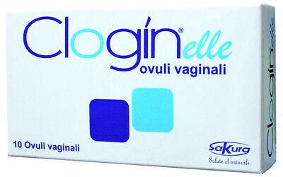 Clogin elle-Ovuli's for Acute & Recurrent Vaginal Infections-10 Ovuli's