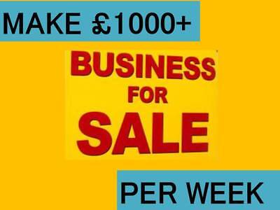 GENUINE Business for sale   £1000+ a week   4 Business Ideas   ££££££££££££££££