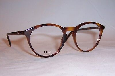 1a9f01c48008 NEW CHRISTIAN DIOR EYEGLASSES CD MONTAIGNE 53 086 HAVANA 50mm RX AUTHENTIC