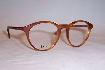 646143757fda NEW CHRISTIAN DIOR EYEGLASSES CD MONTAIGNE 53 SX7 HAVANA 48mm RX AUTHENTIC