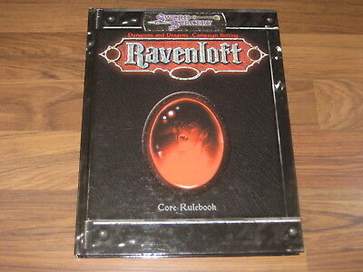 D&D 3.5 Ravenloft Campaign Setting Core Rulebook Hardcover 2001 White Wolf