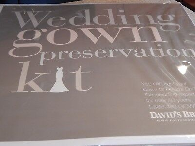 Wedding Gown Preservation Kit by  David's Bridal $189 Retail Sealed