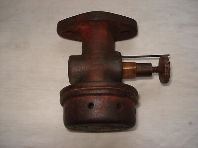 Amanco / Associated hit and miss open crank stationary engine MIXER CARBURETTOR