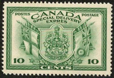 """Canada # E10 ~ 10¢ 1942 """"War Issue"""" Special Delivery ~  MNH, VF; [CV=$9]"""