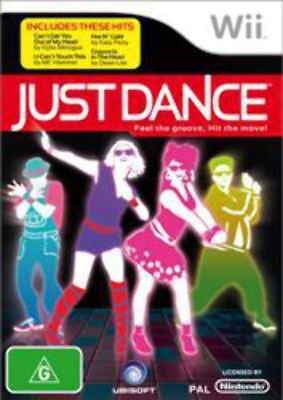 Just Dance Nintendo Wii Game USED
