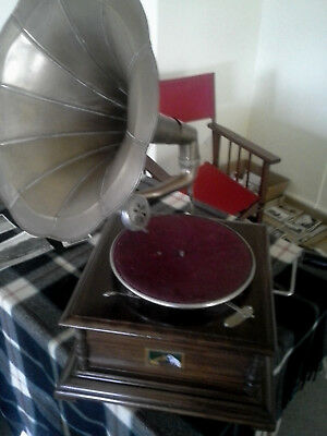 Vintage Record Player Vg Condition