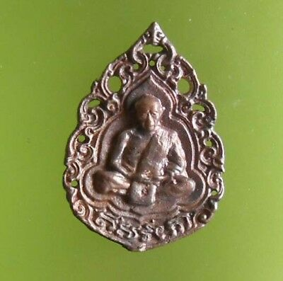 Perfect Lp Tim Old Thai Amulet With Box Very Rare !!!