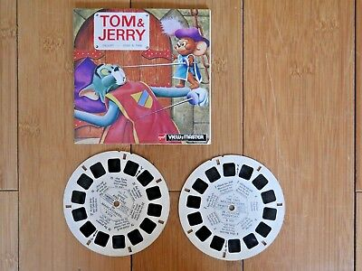Tom & Jerry Droopy Spike & Tyke Viewmaster Reels 1956 Vintage Rare B511   #193
