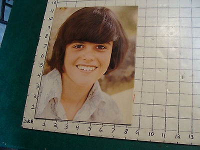 DONNY OSMOND Poster: young Donny single sheet Donny removed from mag COLOR