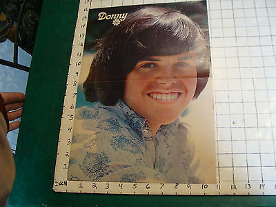 DONNY OSMOND Poster: 2 sheet Donny removed from mag