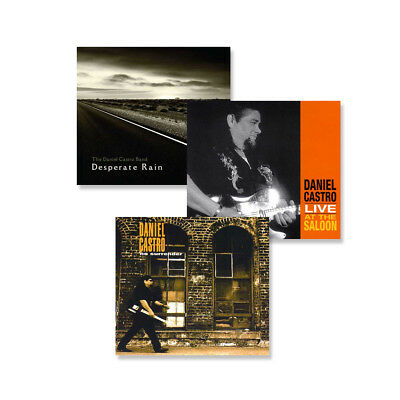 Daniel Castro 3 CD Combo Pack - Get all 3 CDs and Save!