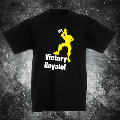 SKU27 FORTNITE VICTORY ROYALE battle gaming t shirt ps4 xbox one