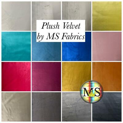 High Quality Soft Plush Velvet Upholstery Fabric Material Curtain Cushion Sofa
