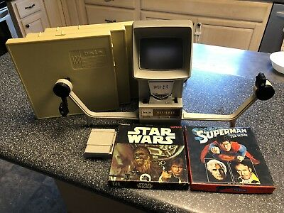 Baia Reviewer Super 8 W/ Star Wars And Super Man The Movie - NICE - WORKS