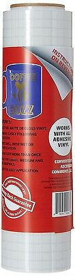 Oracal 12quot X 50' Feet Roll CLEAR Transfer Tape w/ Grid for Adhesive Vinyl  