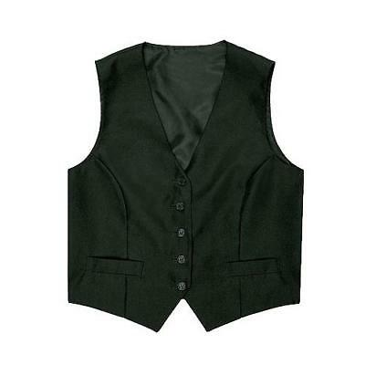 Chef Works - VPWO-BLK-XS - Women's Black Vest (XS)