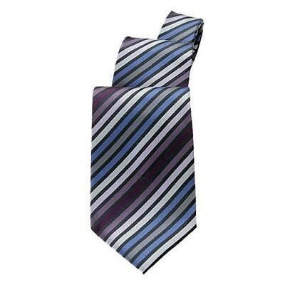 Chef Works - TPMS-BPU - Blue/Purple Stripe Tie