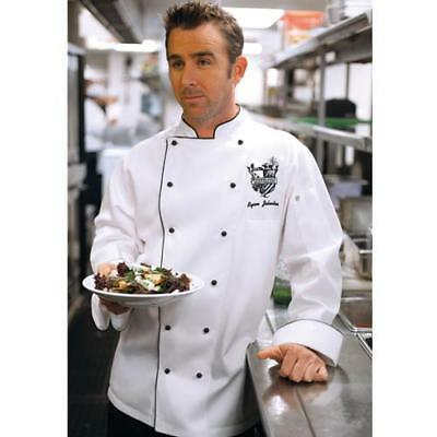 Chef Works Newport Chef Coat Jacket - White - All Sizes