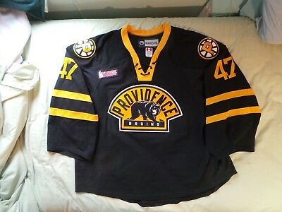 new products 2ad5b a84ce PROVIDENCE BRUINS AUTHENTIC Game Worn Used Jersey Malcolm Subban Golden  Knights