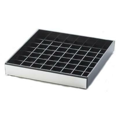 Cal-Mil - 391-010 - 6 in x 6 in Silver Drip Tray